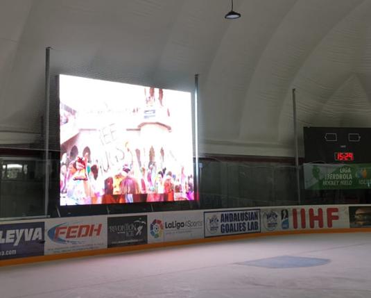 Granada Ice Arena se une a la tecnología Led